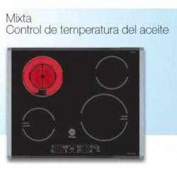 Placas mixtas inducción-vitrocerámicas